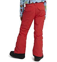 Burton Sweetart Pant - pantaloni snowboard - bambina, Red