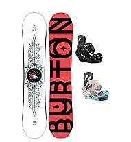Burton Set Snowboard Talent Scout + Snowboard-Bindung