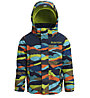 Burton Toddler Kid's Amped - giacca snowboard - bambino, Black/Green