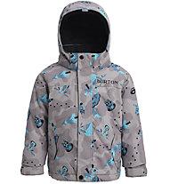 Burton Toddler Kid's Amped - Snowboardjacke - Kinder, Light Grey/Light Blue