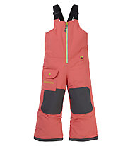 Burton Toddler Maven Bib - Snowboardhose - Kinder, Orange/Black