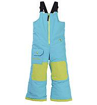 Burton Toddler Maven Bib - Snowboardhose - Kinder, Light Blue/Green