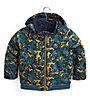 Burton Toddlers' Bomber Jacket - giacca snowboard - bambini, Green/Yellow