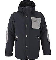 Burton TWC Primetime giacca snowboard, True Black/Heathered Bog