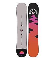 Burton Women's Yeasayer - tavola snowboard - donna, Grey/Orange