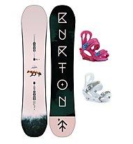 Burton Set Snowboard Yeasayer + Snowboard-Bindung