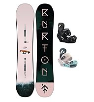 Burton Set Snowboard Yeasayer Flying V + Snowboard-Bindung