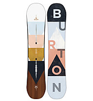 Burton Yeasayer Flying V - Snowboard All Mountain - Damen, Rose/Light Blue/Brown