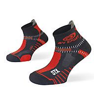 BV Sport STX Evo - Laufsocken, Black/Red