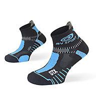 BV Sport STX Evo - calze running - uomo, Black/Blue