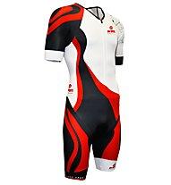 BV Sport Trifonction 3x200 -body triathlon - uomo, White/Black/Red