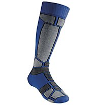 GM Alpine Ski Race Pro Kinder-Skisocken, Blue/Grey
