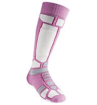GM Alpine Ski Race Pro Kinder-Skisocken, Pink/White/Grey