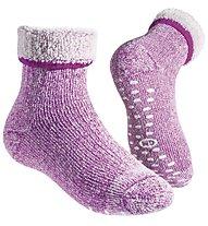 GM Merino Home Junior Socken, Fuchsia