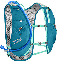 Camelbak Circuit Vest - 5L - zaino running, Light Blue/Grey/Green