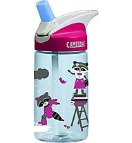 Camelbak Eddy Kids´ 0,4 L - Trinkflasche, Transparent Blue/Pink