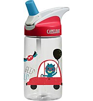 Camelbak Eddy Kids´ 0,4 L - Trinkflasche, Transparent/Red