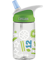 Camelbak Eddy Kids' 0,4 L - Borraccia, Transparent/Green