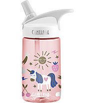 Camelbak Eddy Kids' 0,4 L - Borraccia, Transparent Rose