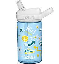 Camelbak Eddy+ Kids 0,4L - Trinkflasche - Kind, Light Blue/White