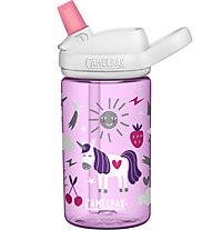 Camelbak Eddy+ Kids 0,4L - Trinkflasche - Kind, Pink/White
