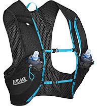 Camelbak Nano Vest 3L - zaino running, Black/Blue
