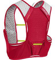 Camelbak Nano Vest 3L - zaino running, Red/Green