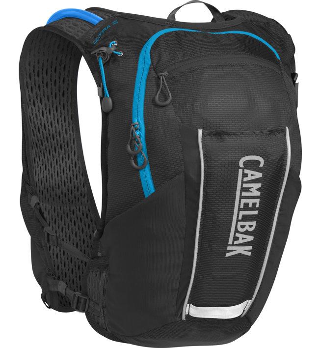 Camelbak Ultra 10 - Trailrunningrucksack, Black/Atomic Blue