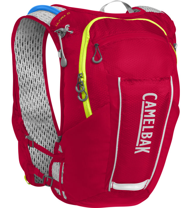 Camelbak Ultra 10 - Trailrunningrucksack, Red/Green