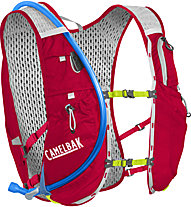 Camelbak Ultra 10 - Zaino trailrunning, Red/Green