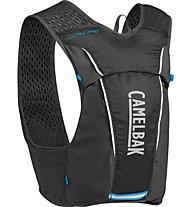 Camelbak Ultra Pro Vest 3,5 L - Trailrunning-Rucksack, Black/Atomic Blue