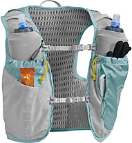 Camelbak Women's Ultra Pro Vest  7L - Trailrunning Rucksack - Damen, Light Blue/Silver