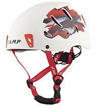 Camp Armour - Kletterhelm, White/Red