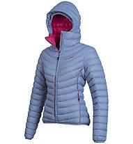 Camp Ed Protection - giacca in piuma con cappuccio - donna, Blue