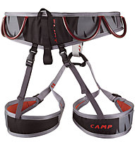Camp Flint - imbrago basso, Grey/Black/Red