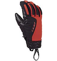 Camp Geko Hot - guanti alpinismo, Black/Red