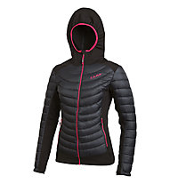 Camp Hybrid - giacca ibrida - donna, Black