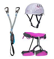 Camp Damen-Set bestehend aus Klettersteigset + Klettergurt + Helm