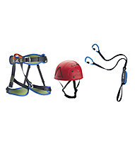 Camp Kinetic Topaz - Kit Klettersteig, Blue/Red/Blue