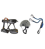 Camp Kinetic Rewind Topaz Plus - Klettersteigkit, Grey/Grey/Blue