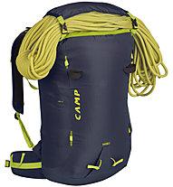 Camp M30 - zaino alpinismo e arrampicata, Black/Lime