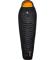 Camp Micro 300 - sacco a pelo in piuma, Black/Orange