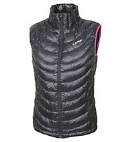 Camp Micro - Gilet In piuma trekking - donna, Black/Pink