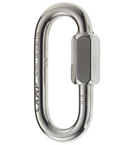 Camp Oval Quick Link - moschettone, Silver / 10 mm