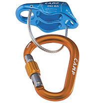 Camp Più 2.0 Belay Kit - Sicherungsgerät, Blue/Orange