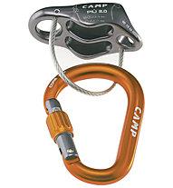 Camp Più 2.0 Belay Kit - Sicherungsgerät, Grey/Orange