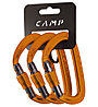Camp Set 3 Orbit Lock - set moschettoni a ghiera, Orange
