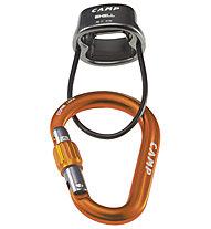 Camp Shell Belay Kit - Sicherungsgerät, Grey/Orange