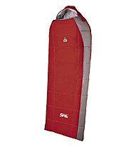 Camp Sint Compact 120 - Kunstfaserschlafsack, Carmine Red/Grey