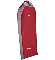 Camp Sint Compact 200 - Kunstfaserschlafsack, Carmine Red/Grey